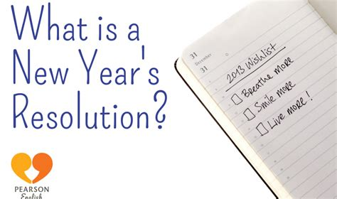 new year year of the what what is a new year s resolution