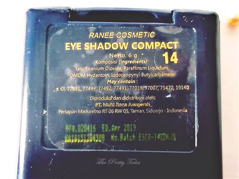 Palet Eyeshadow Warna Matte ranee eyeshadow compact 14 review eyeshadow palette lokal