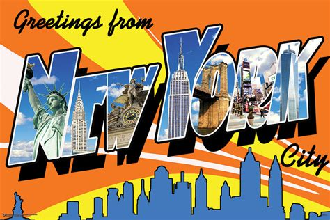 Greetings From New York City by Greetings From New York City 51426