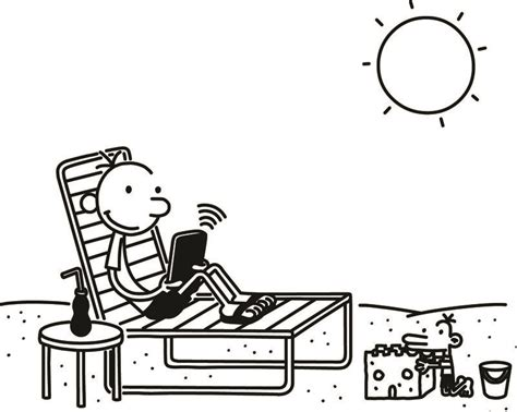diary of a wimpy kid coloring pages az coloring pages