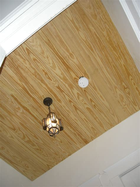Paneled Ceiling by Wood Paneling Ceiling Diy Diy Do It Your Self