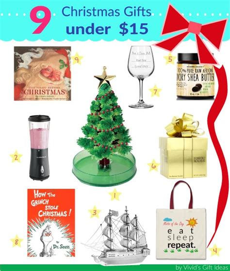 christmas gifts under 15 great for gift exchange vivid s