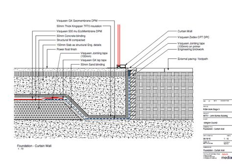 curtain wall foundation detail curtain wall foundation detail nrtradiant com
