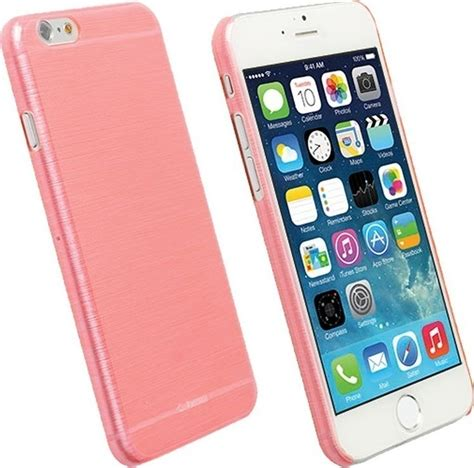Krusell Cover Iphone 6 Transparent Pink krusell back cover frostcover transparent pink iphone 6