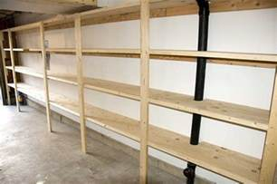 garage shelving plans house pinterest