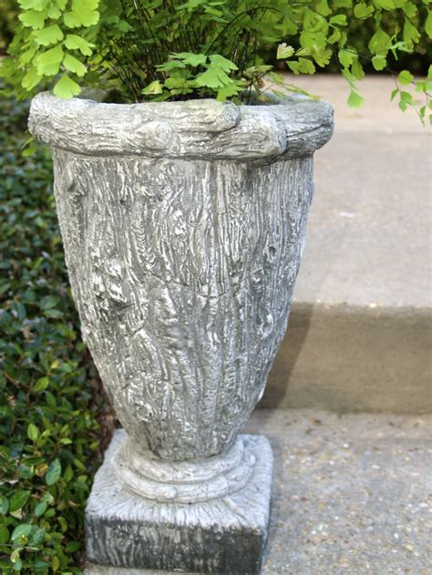 Cloth Planters by I Found These Fabulous Concrete Containers