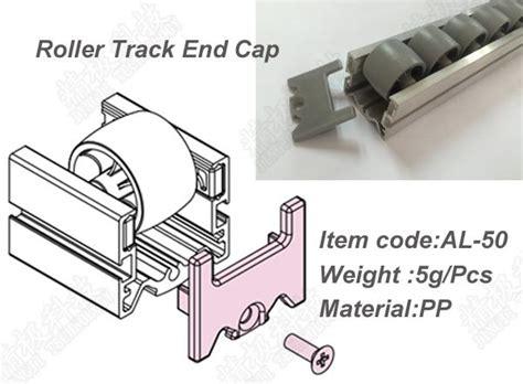 Cetakan Coklat Model Gummy 50 Slot roller track end cap aluminium tubing joints untuk sistem rack pipa al 50
