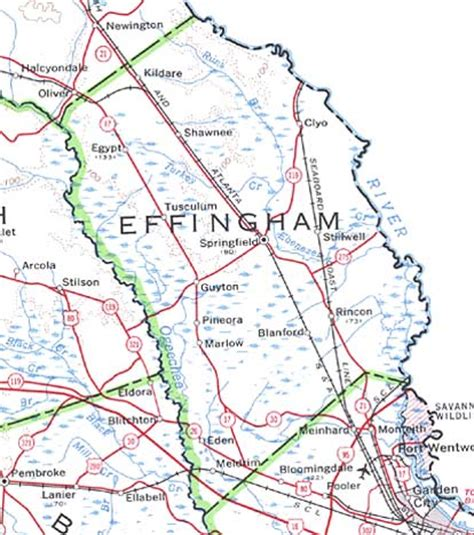 Effingham County Search Georgiainfo
