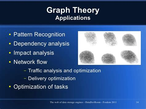 pattern recognition theory and applications graph databases the web of data storage engines