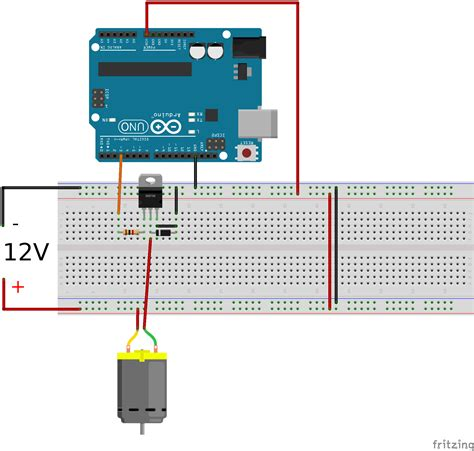 arduino transistor motor driver transistors how to the speed of a 12v dc motor with an arduino electrical