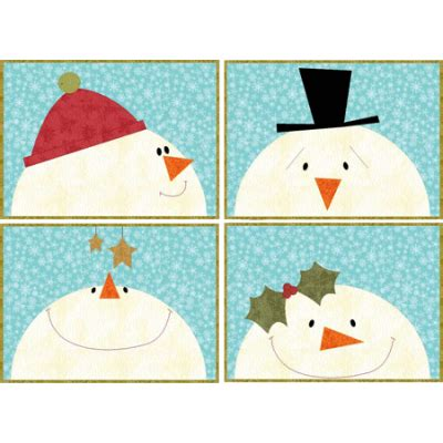 snowman table runner and placemats snowmen placemats quilts snowman craft