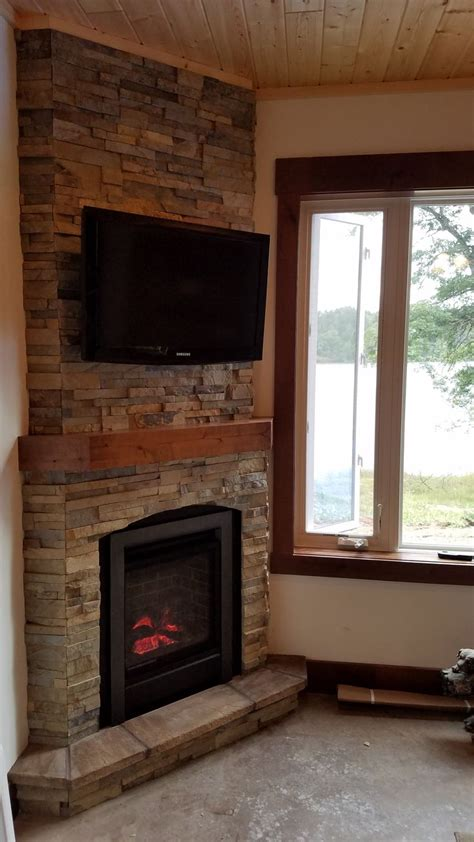 wood and gas fireplace best 25 corner gas fireplace ideas on corner