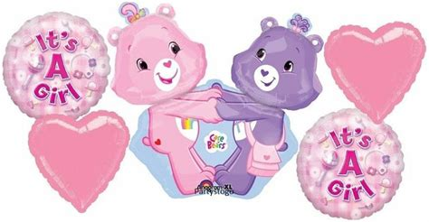 care baby shower supplies care bears baby shower balloons bouquet supplies
