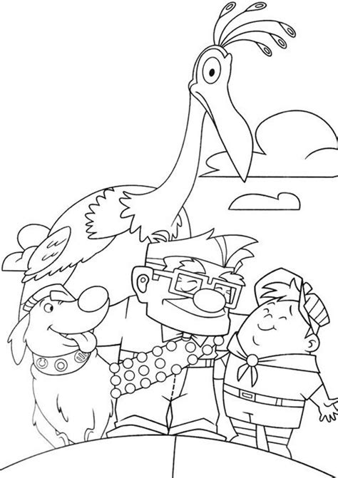 Disney Pixar Up Coloring Pages Pixar Coloring Pages