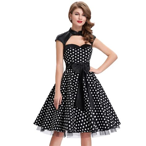 50s swing fashion dresses fashion robe 50s vintage dress black