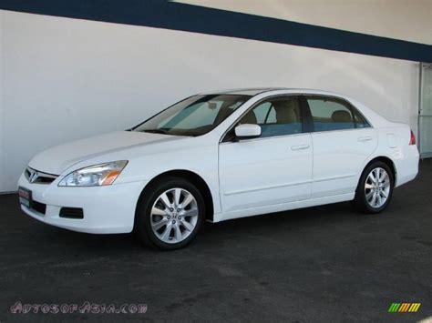 honda white car honda accord ex v6 coupe taffeta white ivory photo 4 2007
