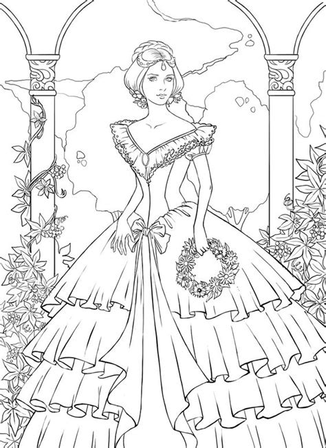 Coloriages Gratuits 224 Imprimer Barbie Realistic Princess Coloring Pages For Adults Free Coloring Sheets