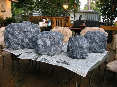 How To Make A Paper Mache Rock - 1000 images about outdoor living on diy shed