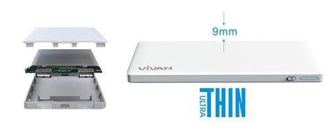 Diskon Vivan C5 5000mah 2 Usb Ports Power Bank With Data Cable White jual vivan c5 powerbank 5000 mah 2 usb ports garansi resmi 1 tahun harga kualitas