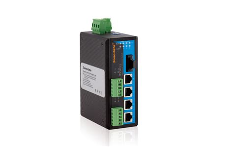 Salad Ss Sc 03 2d switch c 244 ng nghiệp 4 cổng ethernet 1 cổng quang 2 cổng rs 422 485 3onedata ies615 1f 2d rs