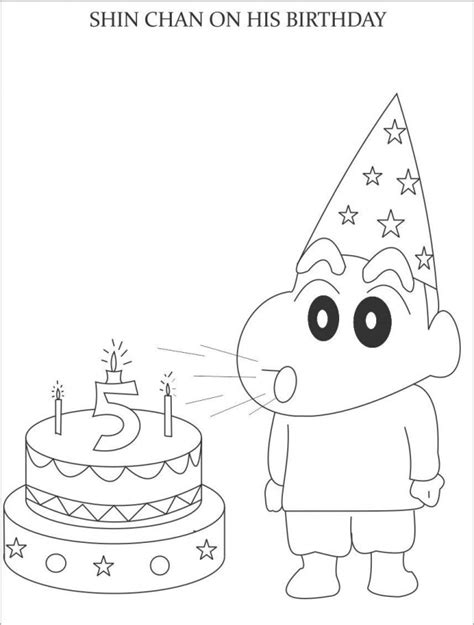shin chan coloring pages az coloring pages