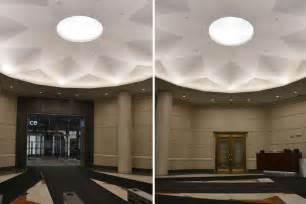Backlit Ceiling by Led Backlit Oculus Ceiling Rotunda Dome Gpi Design