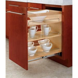 home depot pull out shelves rev a shelf 25 48 in h x 14 in w x 22 47 in d pull out wood base cabinet organizer 448 bc 14c