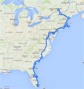 east road map the best east coast road trip itinerary