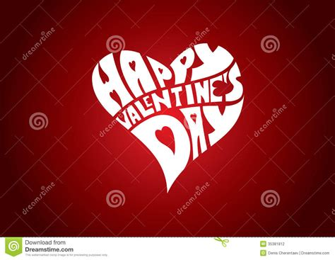 valentines text happy valentines day stock photography image 35381812