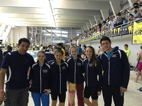 age group sectionals four cac swimmers shine at georgia tech sectionals grand