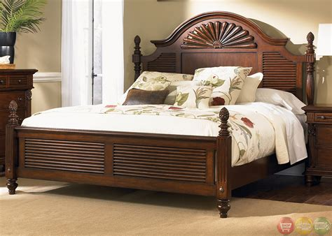 Hawaiian Bedroom Furniture | royal landing tropical tobacco poster bedroom furniture set