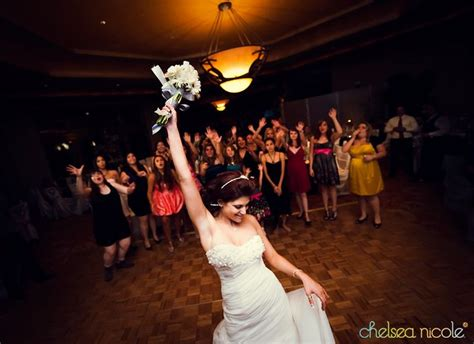 Wedding Bouquet Toss by Bouquet Toss Wedding Activities