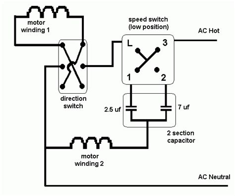 switch wiring diagram for ceiling fan