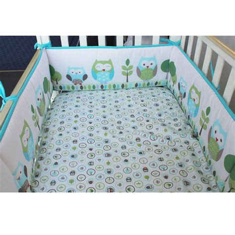 Baby Crib Cot Bumper Infant Toddler Bed Protector Pillow Infant Crib Bedding Set
