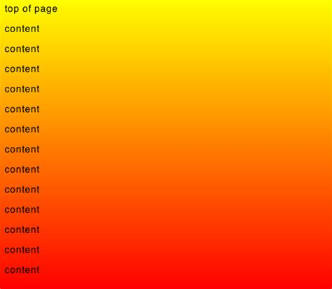 css tutorial gradient background fixed gradient background with css stack overflow