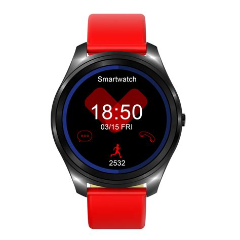 New L1 Smart Mtk2502 Bluetooth Smartwatch Ip67 For Android I Mtk2502c Android Silver