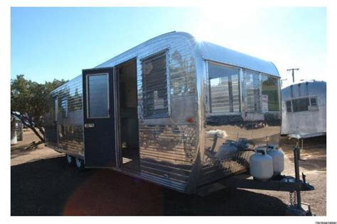 house trailers for sale tiny homes restored vintage boles aero aluminum trailer
