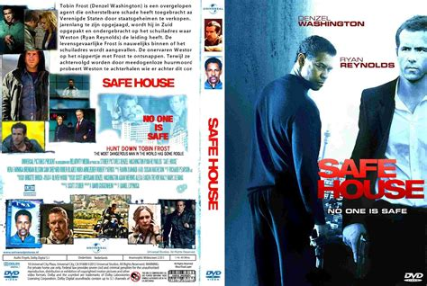 Safe House Dvd Cover 2012 R1 Dutch Custom