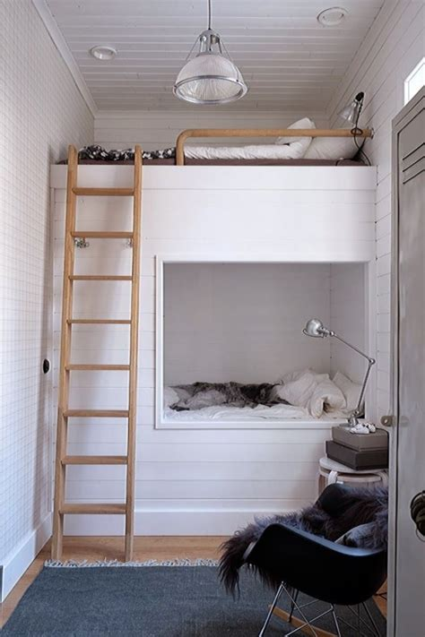 bed for small space 26 cool and functional built in bunk beds for kids digsdigs