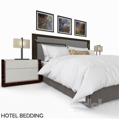 Bedroom Furniture Pictures 3d Models Bed Hotel Bedding
