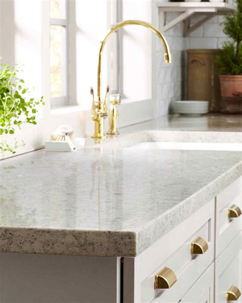 pictures of corian countertops home depot quartz and corian countertops martha stewart