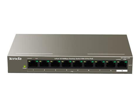 Tenda Tef1108p 8 Port Fast Desktop Poe Switch Murah tenda 9 port fast ethernet switch with 8 port poe tef1109p 8 63w was r999 now r765 service