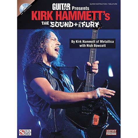the fury books cherry guitar world presents kirk hammett s the sound