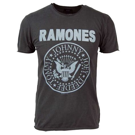 Tshirt Vintage All 88 lified mens vintage ramones t shirt charcoal
