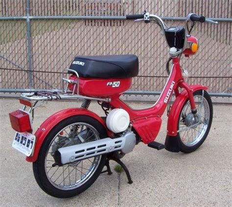 Fa50 Suzuki 1985 Suzuki Fa50 Shuttle Moped Photos Moped Army