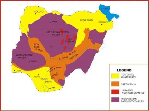 diagram of map of nigeria diagram of vegetation map of nigeria gallery how to