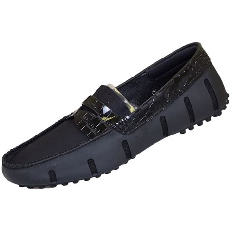 swims black loafers swims alligator black loafer swims from n22