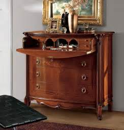 luxury classic chest of 4 drawers carvings handmade