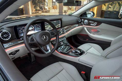 2017 e class coupe interior 2017 mercedes benz e class coupe review gtspirit