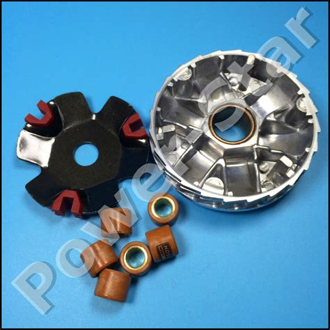 Spare Part Motor Yamaha Fizr koso high performance variator set with copper rollers for most 50cc gy6 scooter honda